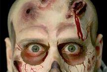 zombie facepaint ideas / Zombie facepaint ideas! Amazing face art by MUA