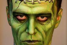adult Halloween make up