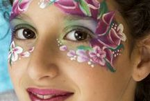 Cutest facepaint for girls / Cute facepaint for girls, birthday parties, learning to DIY facepaint etc