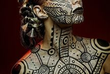 Artistic body paint / Artistic body paint, bodyartist, photography by various artists
