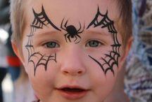 spider web facepaint