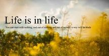 Life is in life / Good Inspirational, Motivational Content & Stories and Life Lessons, which can help every individuals to stay motivated and inspired in his or her Life.