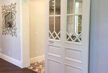 Nápady do domu - posuvné dveře