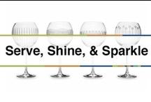 Serve, Shine, & Sparkle