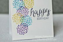 Stampin' Up Cards, scrapbook pages and other inspiration.