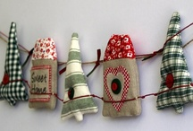 Green loves Christmas! / Christmas, handmade, fabric goods for everyday use.