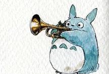 Studio Ghibli / by Megan Rose