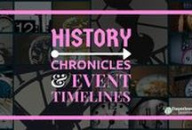 World History / Pins and posts from Dauntless Jaunter Travel Site and elsewhere about history, including key events, chronicles, and historical records and accounts for various people, countries, cities, and institutions.