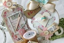Tags / Romantic, vintage, and shabby chic handmade tags.