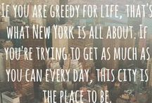New York, New York / The place of dreams.