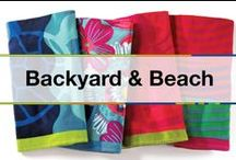 Backyard and Beach