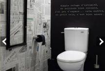 Maison - Toilettes / Ouverture sur le monde  / by Coralie Foulon