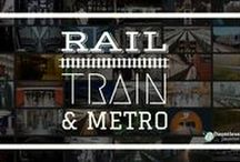 Train, Metro & Rail Travel / All photos, graphics, and links related to train, metro, subway, and rail travel. / by Dauntless Jaunter Travel Site