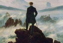 Caspar David Friedrich / 독일, 화가, 낭만주의, 카스파 다비드 프리드리히