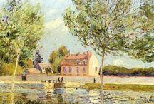 Alfred Sisley / 19세기, 영국-프랑스, 알프레드 시슬레