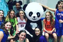 MASCOTS / Joe Penguin, Panda, Python. LB (Little Blue), Wolfie Wolf, Pirate Girl, Sharkie, Ninja, Lynx, Ladybug...