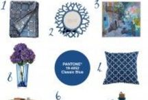 Colour Your World   #5 Pantone® Classic Blue