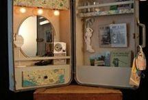 Creatief-koffertje / Creatieve dingen nodig voor school? Neem even een kijkje in mijn koffertje! / by Koffertjesfabriek