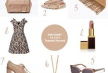 Colour Your World   #6 Pantone® Toasted Almond / Biscuit, oatmeal, beige, nude, natural - call it what you will - it's a great neutral