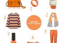 Colour Your World   #8 Pantone® Tangerine / Colour Your World   #8 Pantone® Tangerine