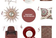 Colour Your World | #10 Pantone® Colour Of The Year 2015 | Marsala / Pantone® Colour Of The Year 2015