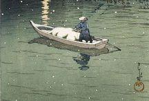 浮世絵 / 일본, 17~20세기