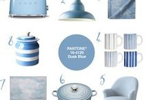 Colour Your World | #12 Pantone® Dusk Blue / Homeware inspired by Pantone® Dusk Blue