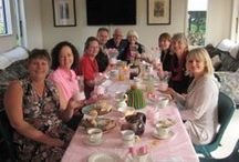 Pink Ribbon Breakfast Inspo / Wonderful snaps from past Pink Ribbon Breakfasts! Send your photos to fundraising@nzbcf.org.nz or post them on our Facebook page https://www.facebook.com/NZBreastCancerFoundation