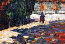 Wassily Kandinsky / 1865~1944, 러시아, 프랑스