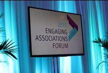 Engaging Associations Forum - Room Set Ups
