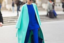 Color - Mix & Matched // How to Wear Argent
