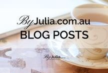 ~ ByJulia.com.au ~ / Original blog posts from ByJulia.com.au. I write about handmade, recipes, healthy living, home, healthy eating, online business, blogging,  house decor, self-improvement, inspirational quotes, DIYs, craft projects and marketing.
