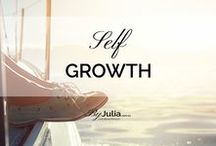 ~ Self-Growth ~ / Self-improvement, self-growth activities, new techniques, life coaching and life lessons.