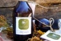 Herb Extracts / Όλα τα εκχυλίσματα βοτάνων ενδείκνυνται για ρευματισμούς και αρθρίτιδα και είναι άριστα αντισηπτικά.