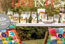 Mr Price Home - Love RSA / It's warming up and to celebrate we are going outside to enjoy the African sun with friends and a warm palette of colours. Our Love RSA range caters for all outdoor entertainment. Live in it