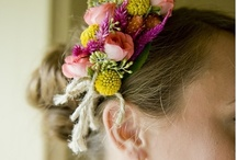 Floral hairpieces / for the races, high tea or any special event!