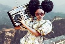 Boomboxes & Fashion / Boombox fashion and fashionable boomboxes.
