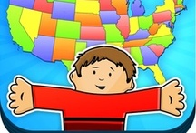 Learn The States With Flat Stanley / Our latest app teaches children the 50 States. Travel across the United States with Flat Stanley and learn about each state's geography, state flags, spelling, state birds, and see exciting photos along the way.
