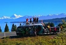 En Route & Transport NZ / NZ's #1 rated tours: http://hakatours.com/new-zealand-tours  / by Haka Tours