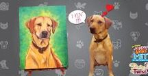 PWAT: Paint your Pet! / Our most popular event, well bc we love pets too!