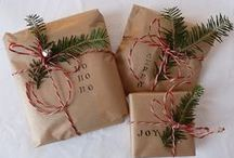 christmas inspiration / christmas DIY
