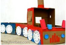 CARDBOARD CRAFTS AND ACTIVITIES / CARDBOARD CRAFTS AND ACTIVITIES