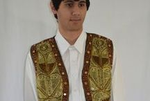 Mens Afghan Clothes / Afghan Mens Clothing from Afghanistan. http://www.zarinas.com/