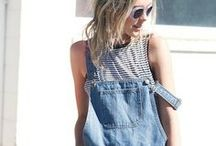 DUNGAREES / Dungarees are back!