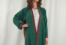 Women's Jackets and Chapans/Khalats (Coats) / Women's Jackets and Chapans/Khalats (Coats)