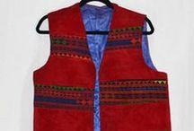 Men's Vests (Waskats) / Men's Vests (Waskats) - These sleeveless jackets are typically worn on top of the Payraan Tumbaan.