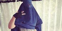Women's Abayas / Burqa / Women's Abayas, Burqas, Muslim Women's Floral Prayer Outfits