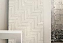 Retrochic, Vintagelook, geometric pattern, Nordic Style / Fliesen
