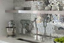 Inspirative Mosaik- und Kachelvariationen / Inspirative Oberflächen, Formen und Farben >> Glasbausteine, Kacheln und Mosaike