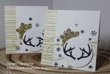 Scraps'! by Diana SU autumn/winter / door mij gemaakte kerstkaarten